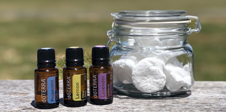 Essential Oil Infused Toilet Bombs